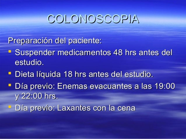 17 colonoscopia