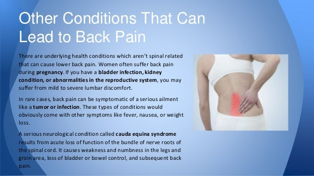 17 Common and Uncommon Back Pain Causes - photo#12