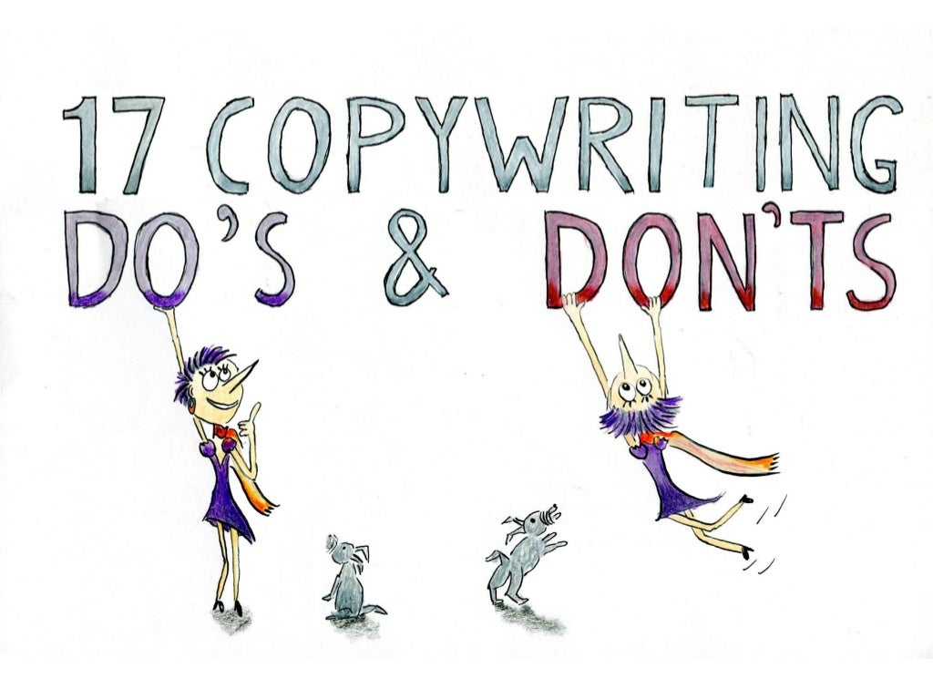 17 Copywriting Do's and Don'ts: How To Write Persuasive Content