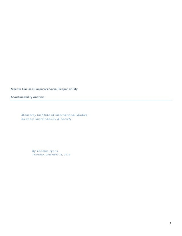 1                    MaerskLineandCorporateSocialResponsibility  ASustainabilityAnalysis  ...