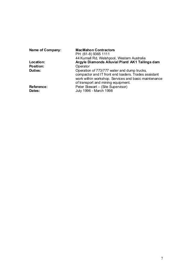updated resume 2016