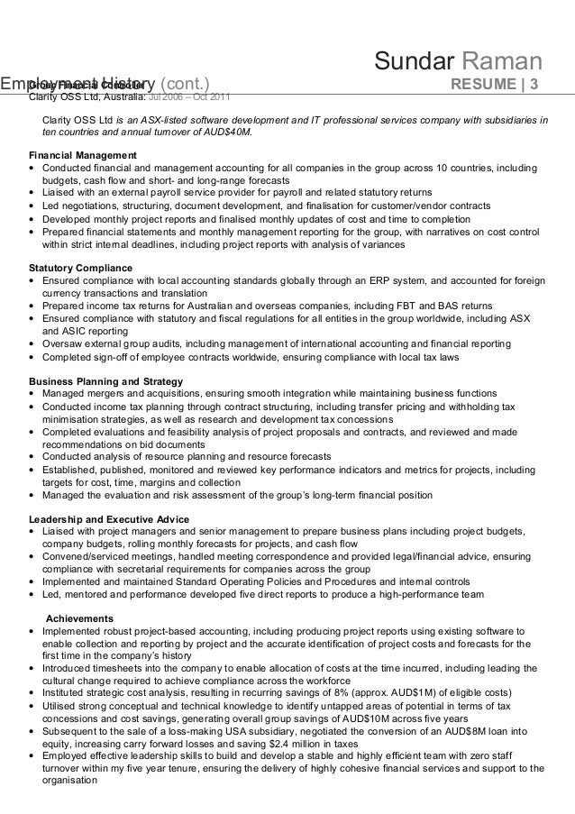 australian resume writers