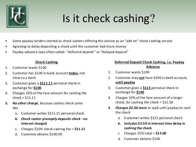 Payday Lending and its Alternatives