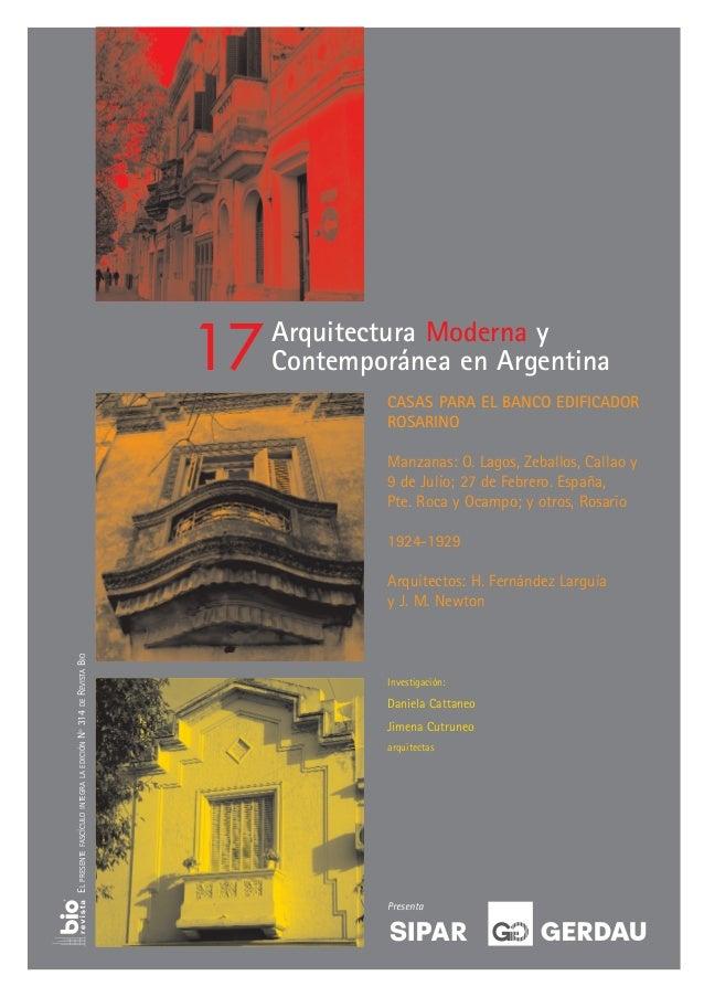 17   Arquitectura Moderna y                                                                      Contemporánea en Argentin...