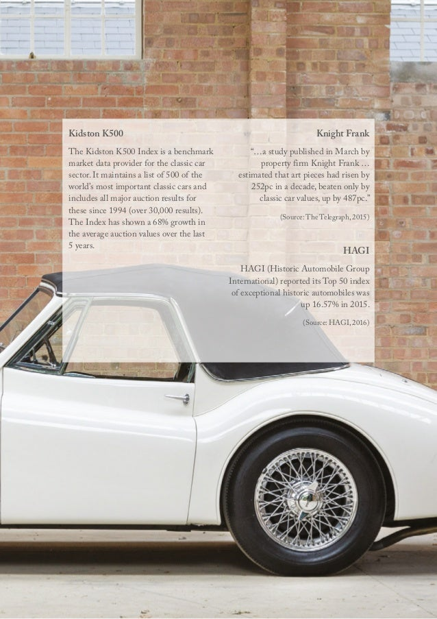 rare classic car values