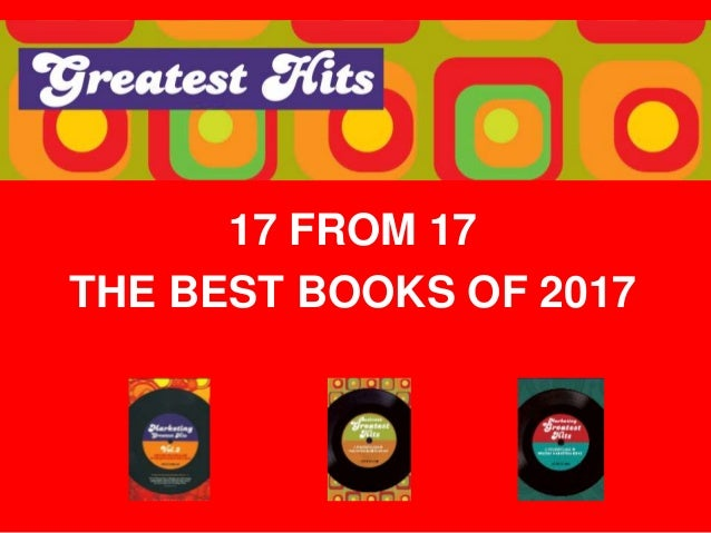 17 FROM 17 THE BEST BOOKS OF 2017