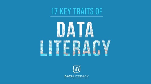 © 2018 Data Literacy. All rights reserved. 7 Data Types: NOIR Qualitative (categorical) Quantitative (numerical) Nominal (...