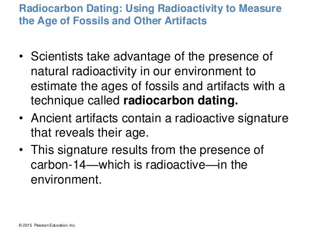 Analyze The Role Of Radioactive Elements In Dating Events And Artifacts
