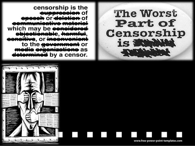 censorship is sometimes justified essays Hello, this is another sat practice essay from me i personally feel that the third  point is not really strong can you give me some suggestions,.