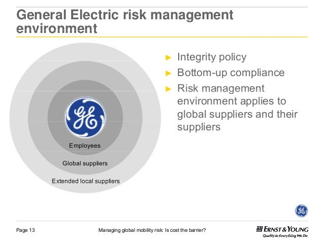 Globalization at general electric