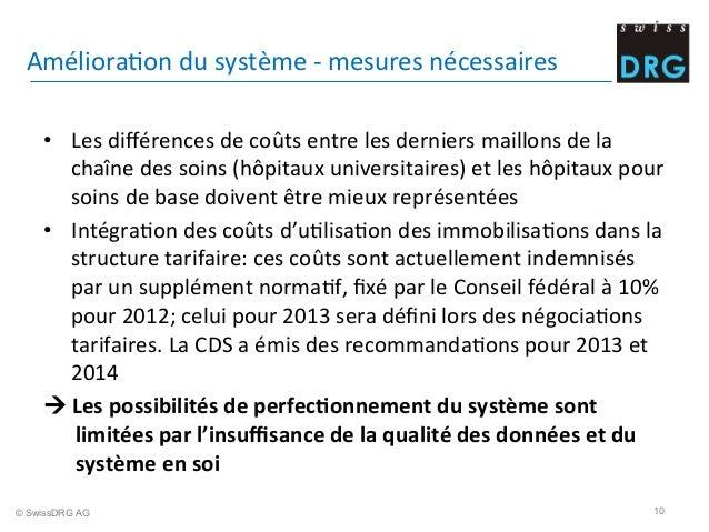 AmélioraDon  du  système  -‐  mesures  nécessaires     • Les  différences  de  coûts  entre  les...
