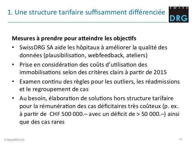 1.  Une  structure  tarifaire  suffisamment  différenciée      Mesures  à  prendre  pour  aXeindre  l...
