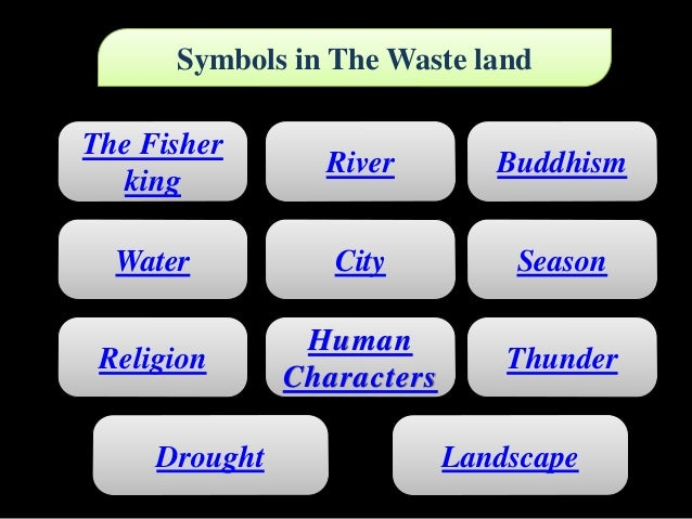 Use Of Symbolism In The Waste Land