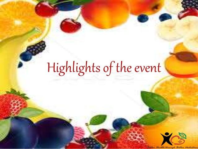 Nutrition event 9th septemeber 2017 Slide 2