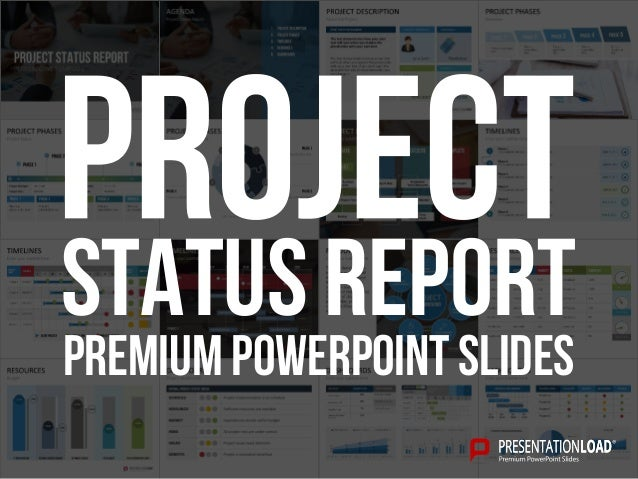weekly status report template powerpoint