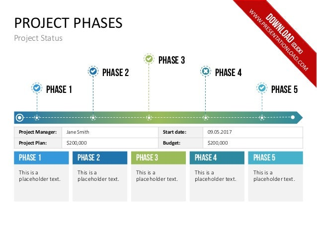 project phases project status