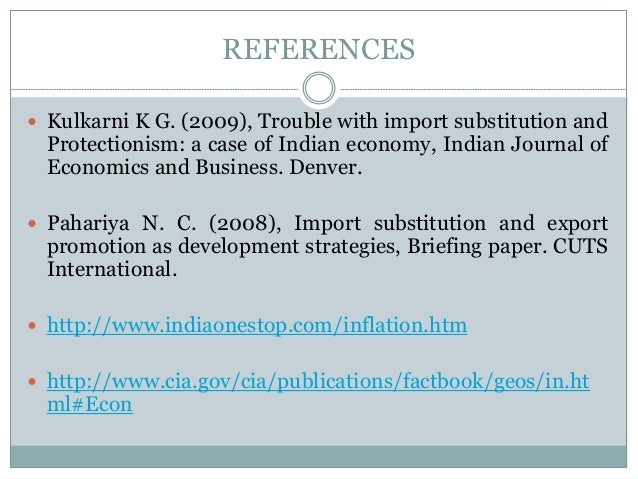 import substitution Import substitution industrialization looking inward for the source of economic growth 51 chapter three many of the state-led.