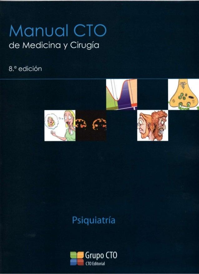 Manual CTO de Medicina y Cirugía Psiquiatría CTO Editorial