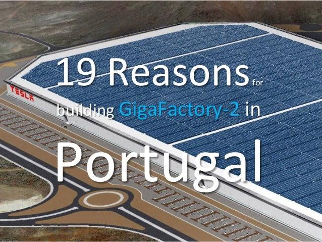 19Reasonsfor buildingGigaFactory-2in Portugal