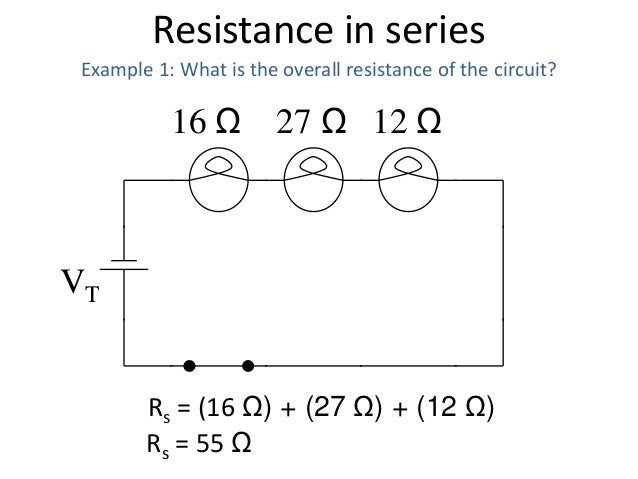 17 resistance in series and parallel