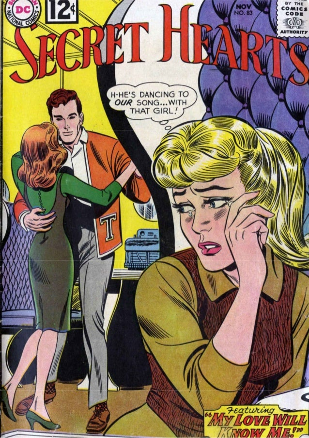 Secret Hearts #83, November 1962, Arleigh Publishing [DC]