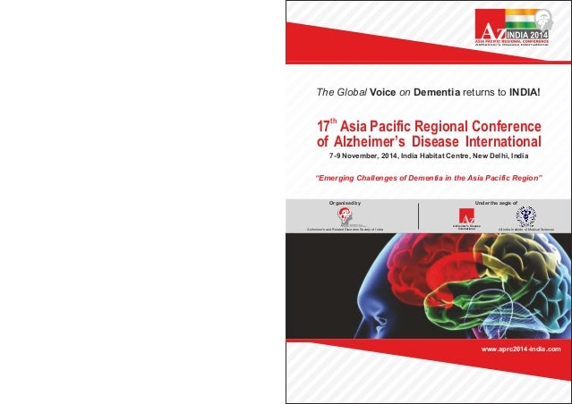 17th Asia Pacific Regional Conference of Alzheimer's Disease International