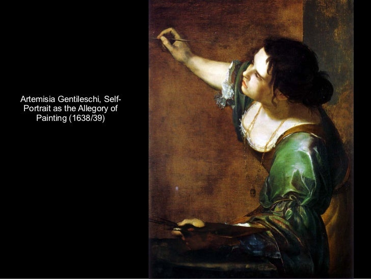 Artemisia Gentileschi, Self-Portrait as the Allegory of Painting (1638/39)