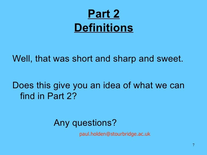 17th Edition Part 2 3