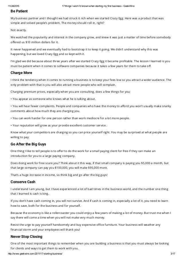 17 things i wish i d known when starting my first business geek wire rh slideshare net wiring money no id Wiring Money Western Union
