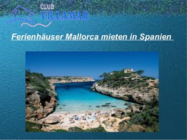 Ferienhäuser Mallorca mieten in Spanien