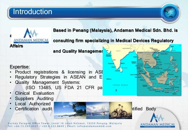 Malaysia Medical Devices Regulations