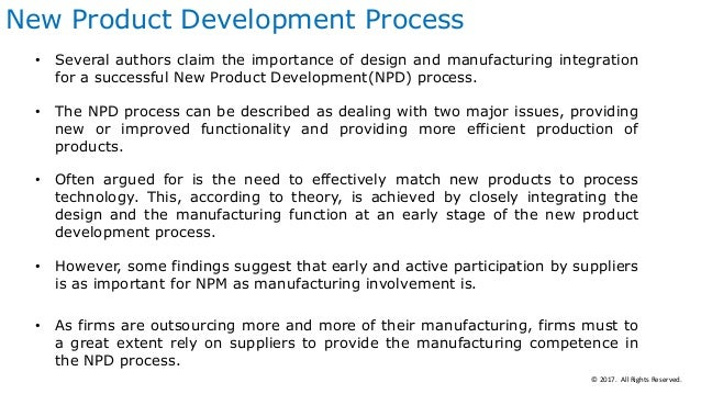 Manufacturing strategy and its impact on product and for Product development and design for manufacturing