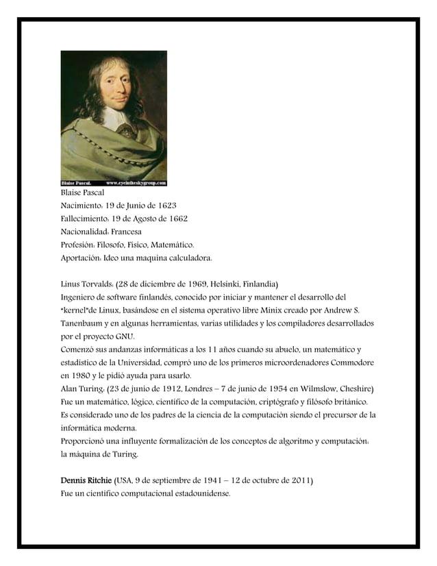 Blaise Pascal Nacimiento: 19 de Junio de 1623 Fallecimiento: 19 de Agosto de 1662 Nacionalidad: Francesa Profesión: Filoso...