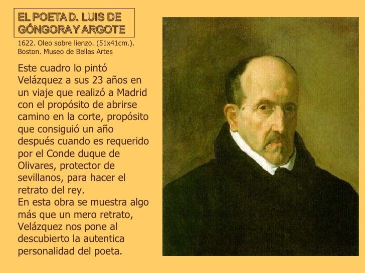 Este cuadro lo pintó Velázquez a sus 23 años en un viaje que realizó a Madrid con el propósito de abrirse camino en la cor...
