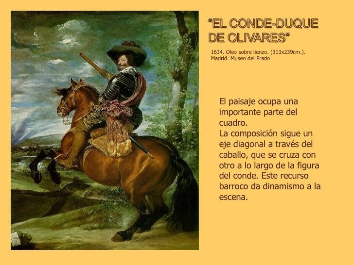 1634. Oleo sobre lienzo. (313x239cm.). Madrid. Museo del Prado El paisaje ocupa una importante parte del cuadro. La compos...