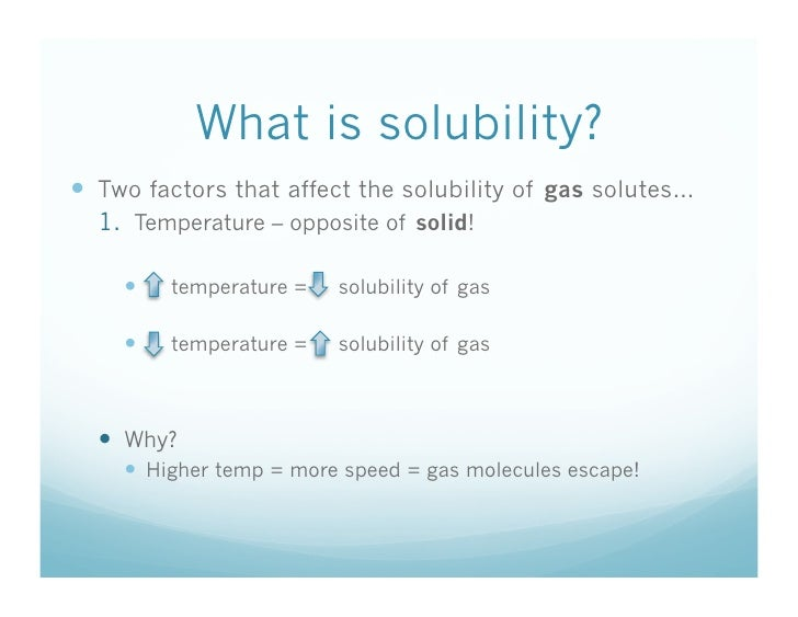 1 7 What Is Solubility