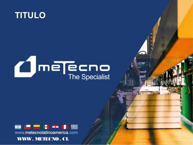 WWW. METECNO. CL TITULO