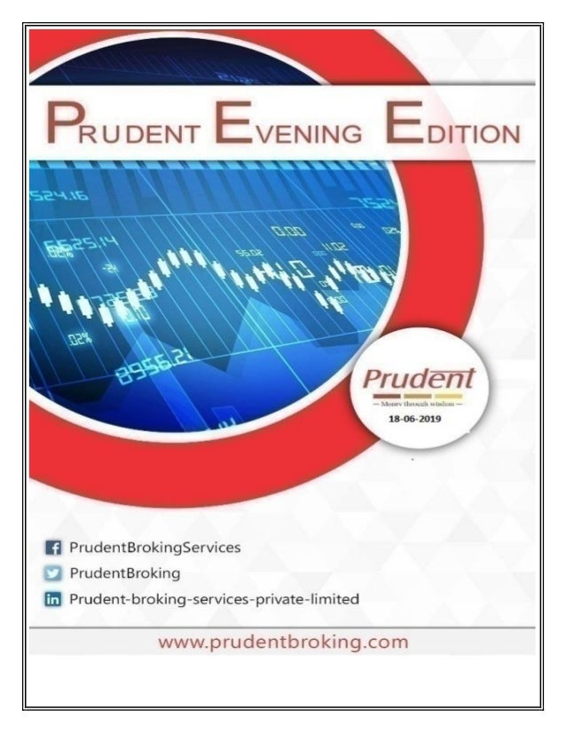 PRUDENT EVENING EDITION SENSEX BREAKS FOUR-DAY LOSING STREAK Benchmark indices ended higher by a fifth of a percent after ...