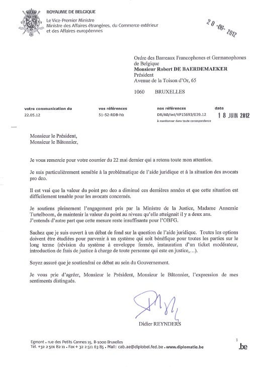 18.06.2012 lettre de didier reynders