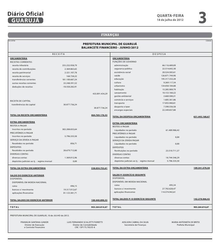 Diário Oficial de Guarujá - 18-07-2012 Slide 3