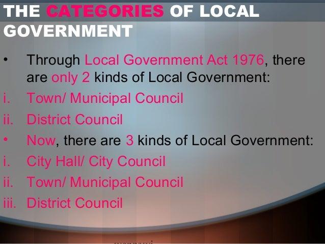 18 Local Government