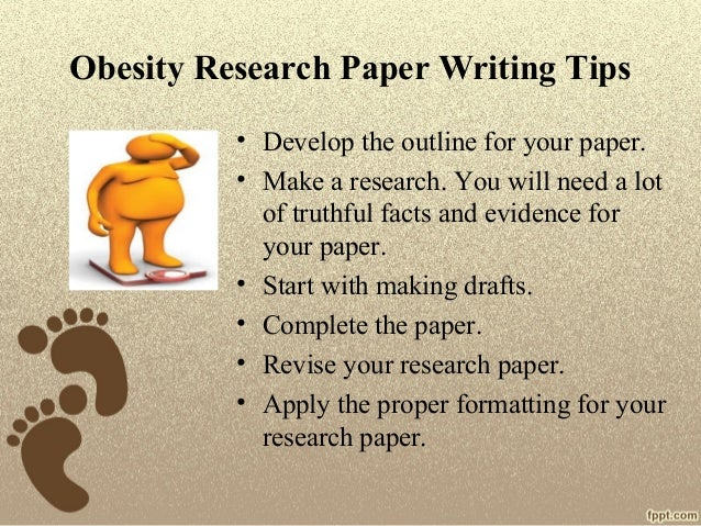Thesis for research paper on obesity