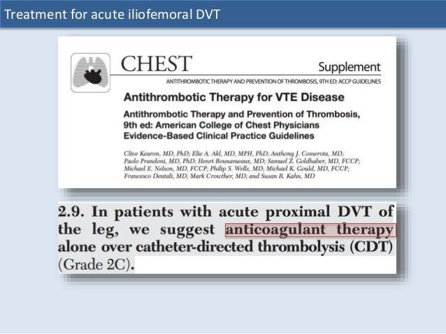 acute dvt treatment