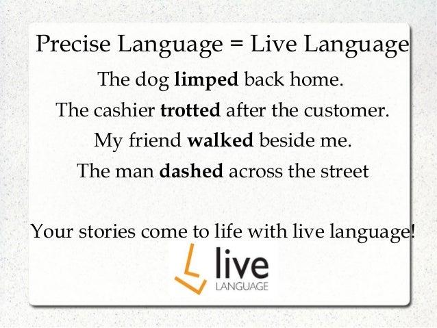 precise language