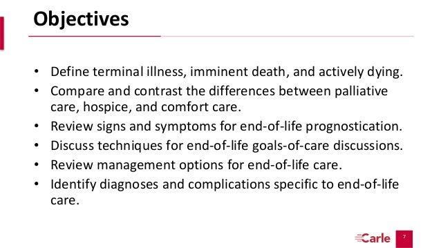 Critical Palliative Care: End-of-Life Care