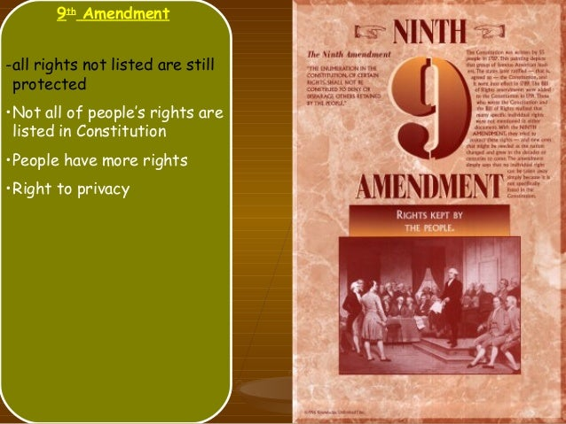 what is the 9th amendment