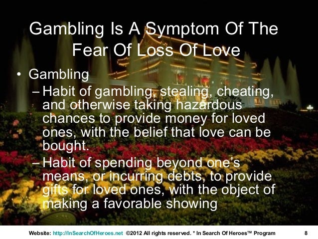 fear of loss relationship