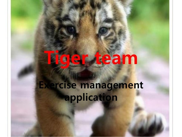 Tiger teamExercise managementapplication