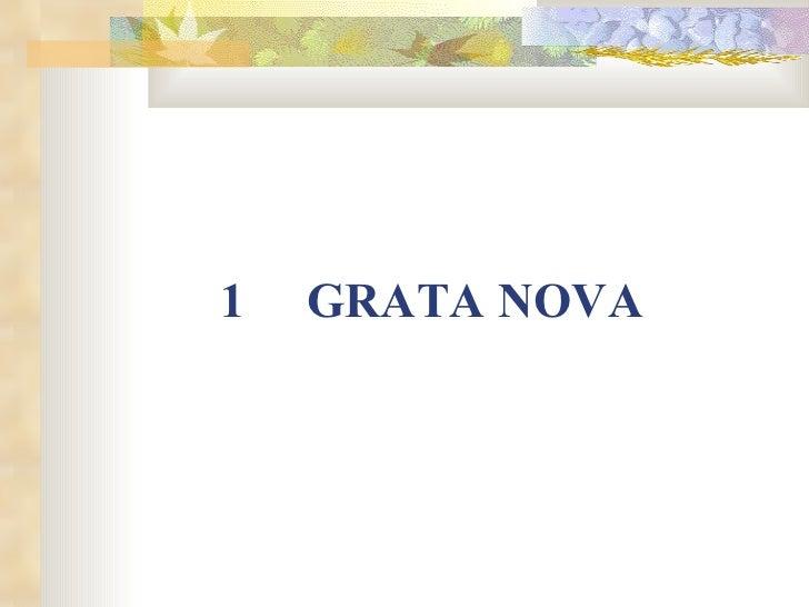 <ul><li>GRATA NOVA </li></ul>