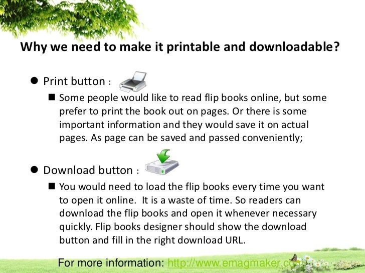 make flip books printable and downloadable